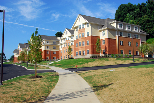 Slippery Rock University Student Housing Phase I Amp Ii